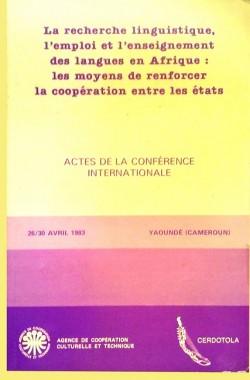 Actes de la conférence internationale de 1983