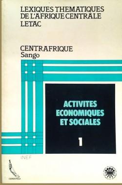 Lexiques thématiques de l'Afrique Centrale LETAC - Centrafrique