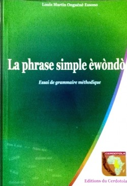 La phrase simple en èwondo